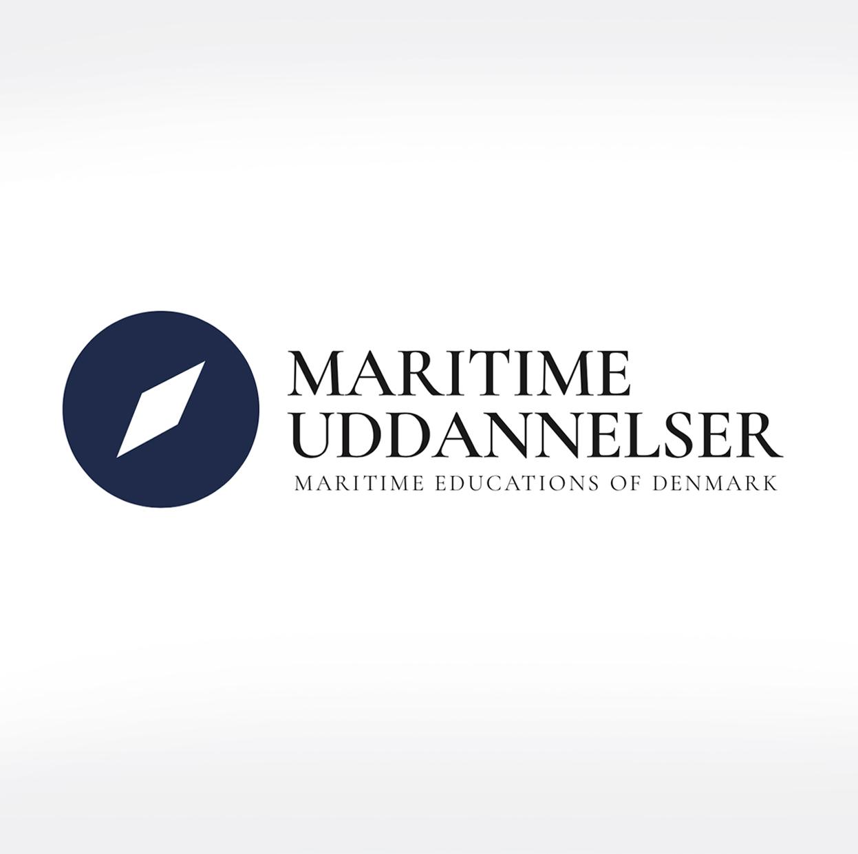 maritime uddannelser logo malene kyed light