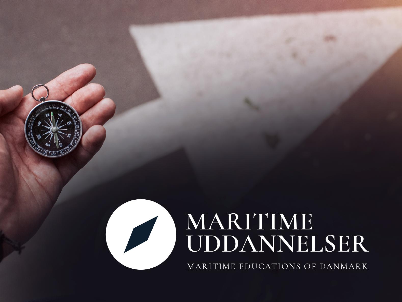 maritime uddannelser Malene Kyed logodesign logo design_